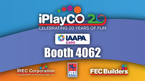 IAAPA Expo, iPlayco, Cyber Towers, TAG, Playground Equipment
