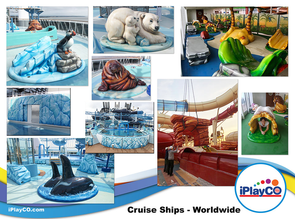 Tuff Stuff, Cruise Ships, Children's Play Equipment, MSC, iPlayCO, Soft Foam Play, Toddler Play